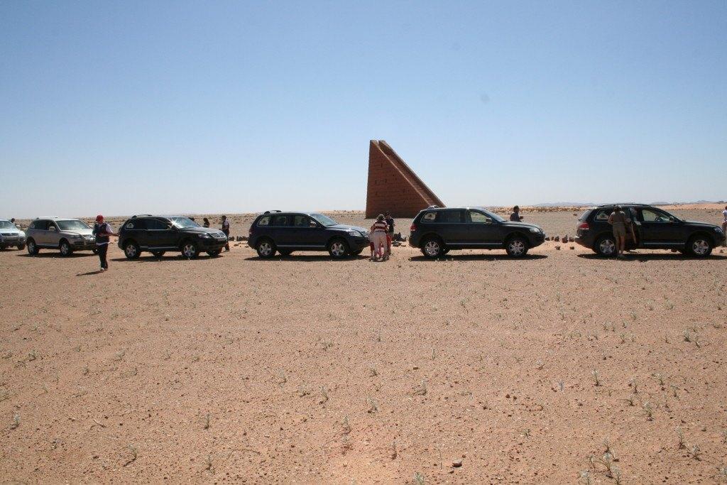 III ruta VW Touareg