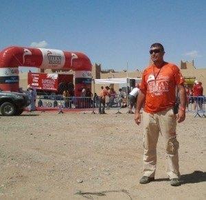 Nuestro German en la Titan Desert 2012