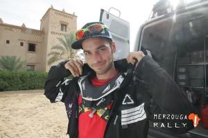 Diego Ortega se impuso como campeon en la categoria de Quad, un trabajo impresionante de navegación y conducción.