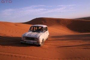 Si, ten por seguro que tu Cross over es capaz de andar por las dunas, única condición tracción 4x4