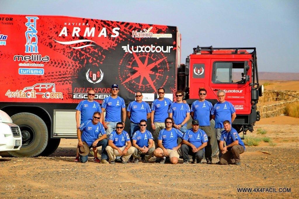 Para el equipo Delfi Sport 4x4facil fue una experiencia inolvidable.