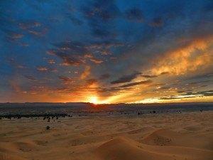 Nunca te olvidaras de el atardecer del Desierto