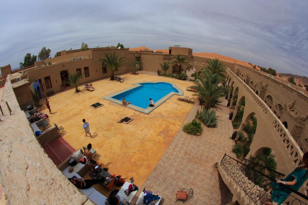 Hotel Nomad palace.