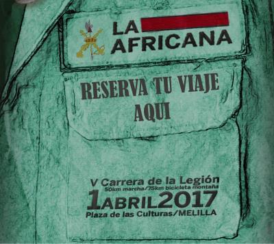 la africana – Carrera de la legion 2017